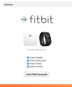 Setup Fitbit