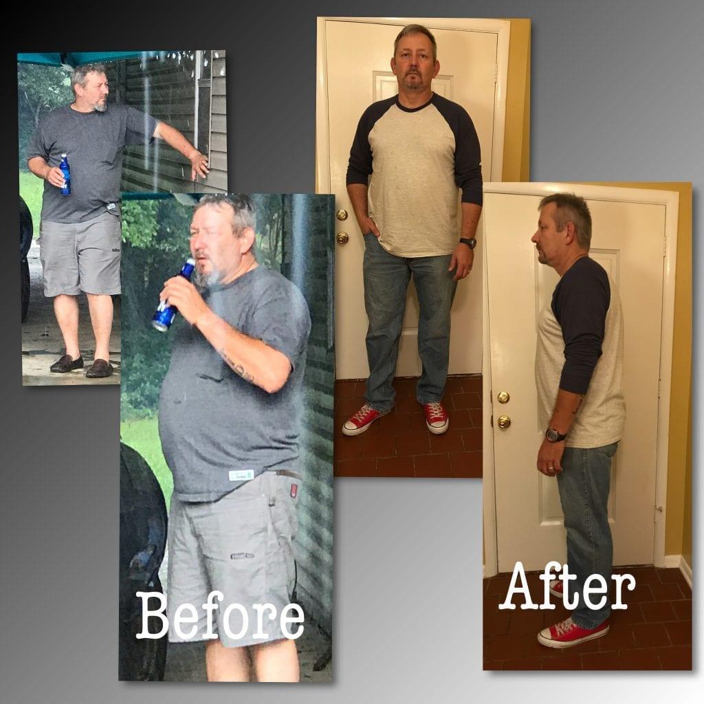 Doug's Weight Loss Transformation